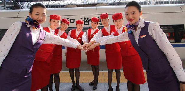 在希望職校學高鐵乘務員可以干幾年,高鐵乘務一般能干到多少歲